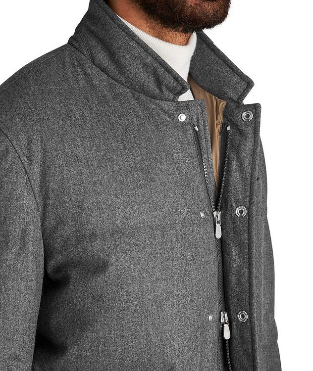 Water-Repellent Wool-Silk-Cashmere Jacket picture 3