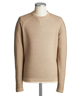 Ermenegildo Zegna Cotton, Cashmere & Silk Sweater