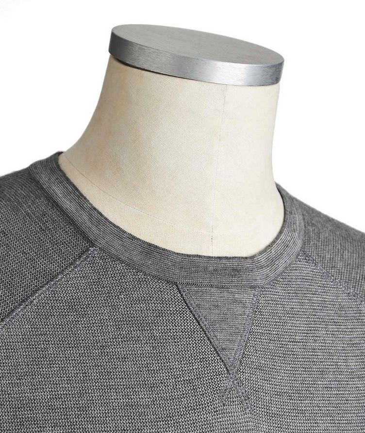 Silk, Cotton & Cashmere Sweater image 1