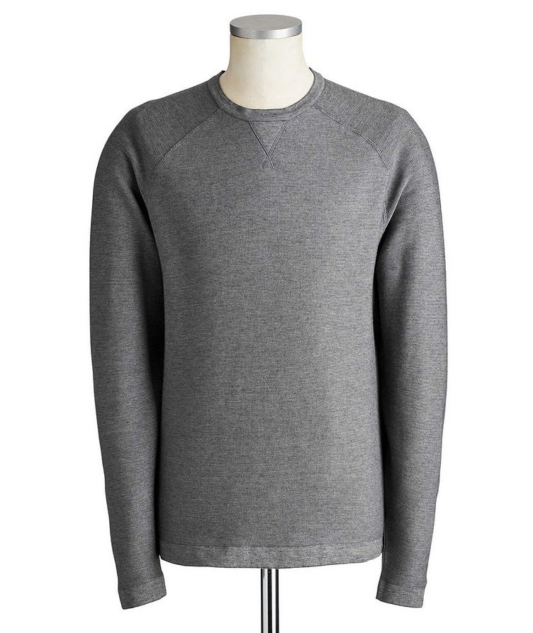 Silk, Cotton & Cashmere Sweater image 0