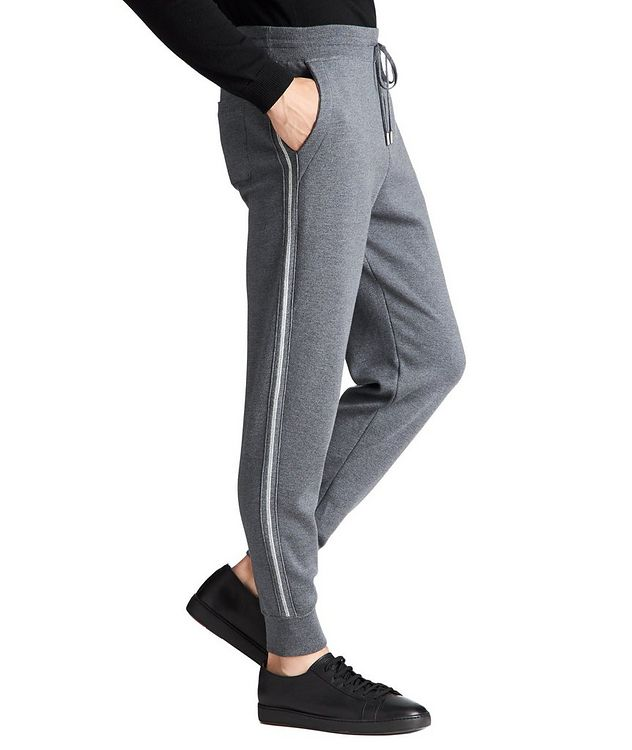 Drawstring Wool Joggers picture 2