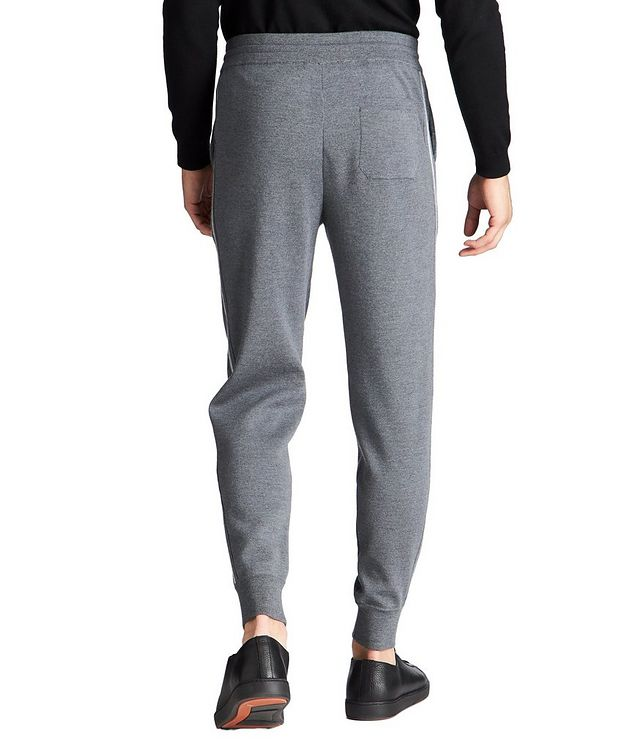 Drawstring Wool Joggers picture 3