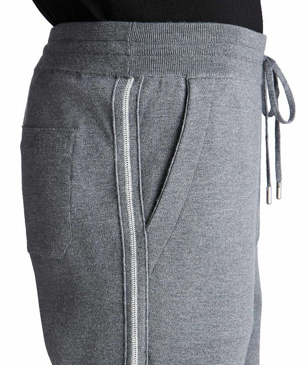 Drawstring Wool Joggers picture 4
