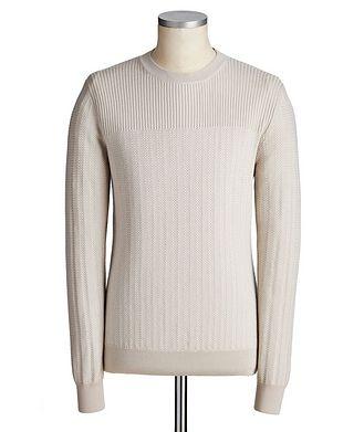 Ermenegildo Zegna Wool-Silk Sweater