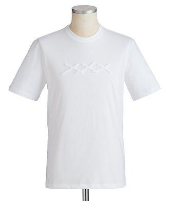 Ermenegildo Zegna Couture Printed Cotton T-Shirt