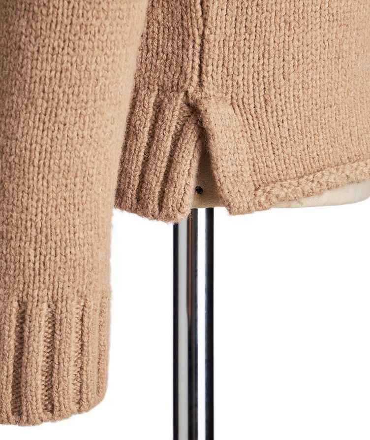 Camel-Wool Turtleneck image 1