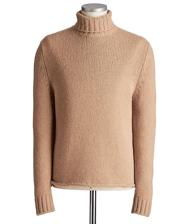 Camel-Wool Turtleneck picture 1