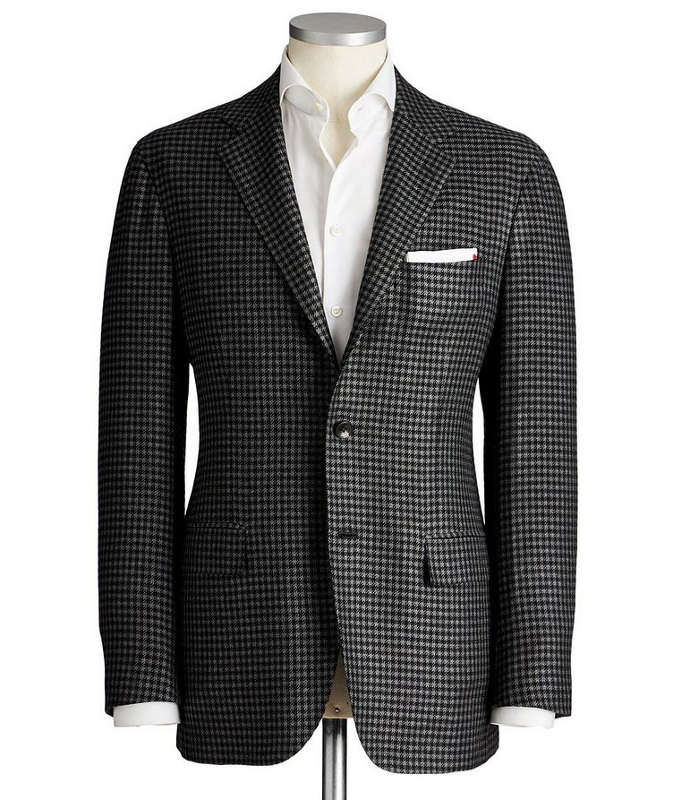 Contemporary Fit Wool-Silk Sports Jacket image 0