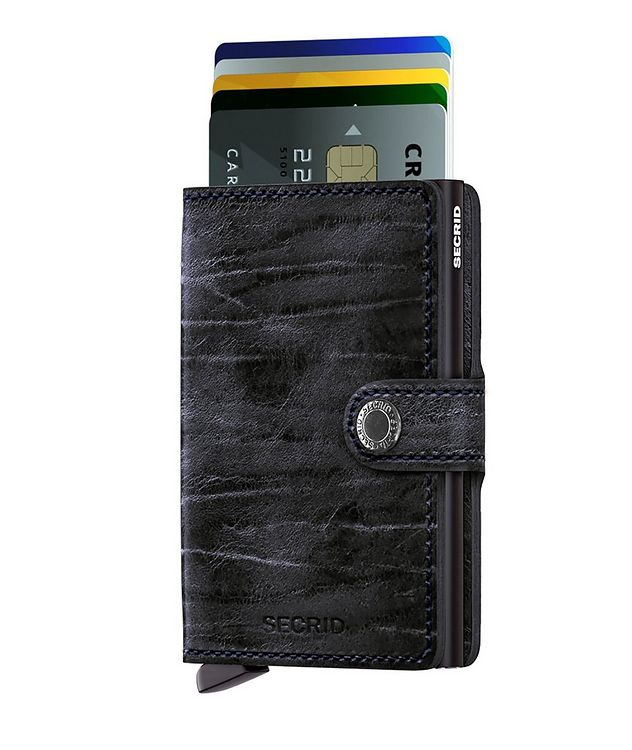 Full-Grain Leather Miniwallet picture 2