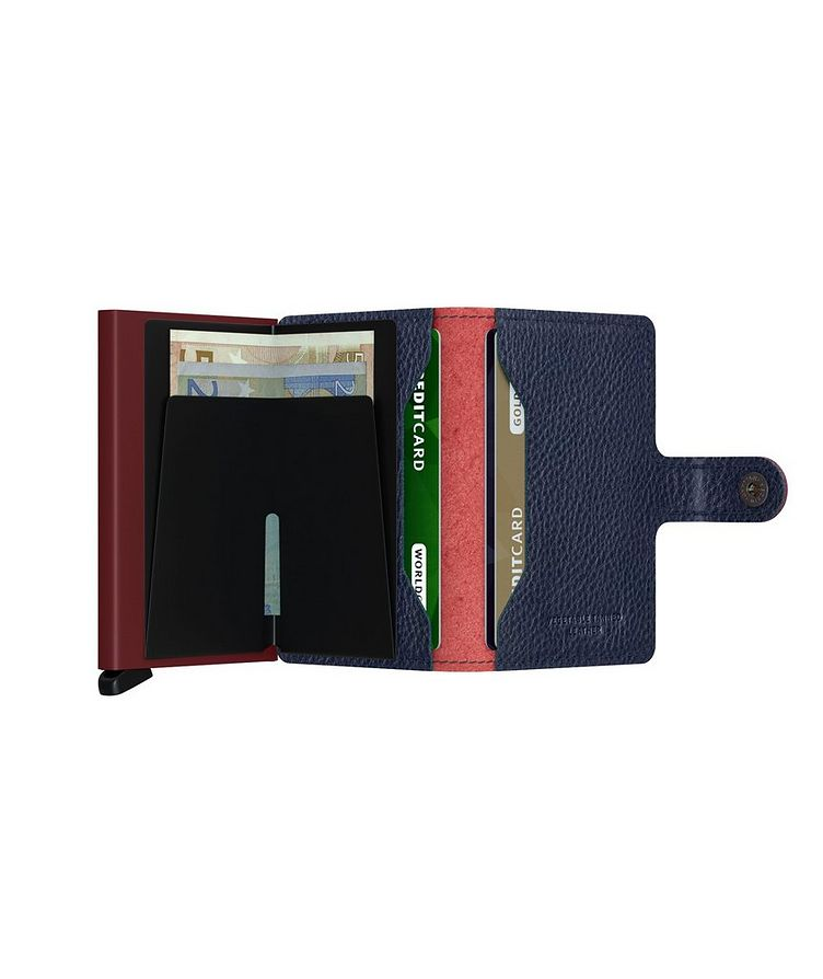 Full-Grain Leather Miniwallet image 3