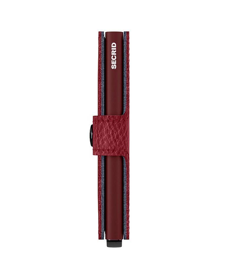 Full-Grain Leather Miniwallet image 4