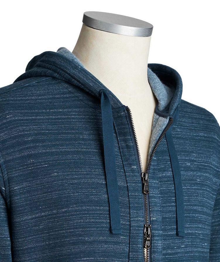 Zip-Up Cotton-Blend Hoodie image 2