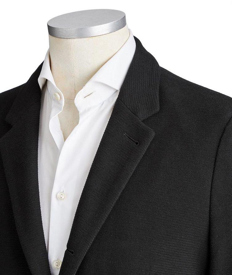 Contemporary Fit Cotton-Blend Sports Jacket image 1