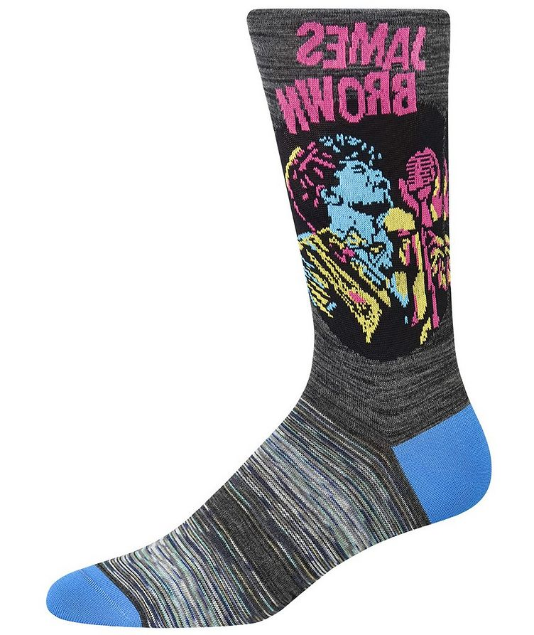 James Brown Cotton-Blend Socks image 0