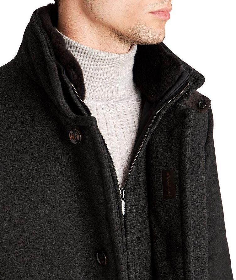 Manteau Bond imperméable en cachemire et duvet image 2