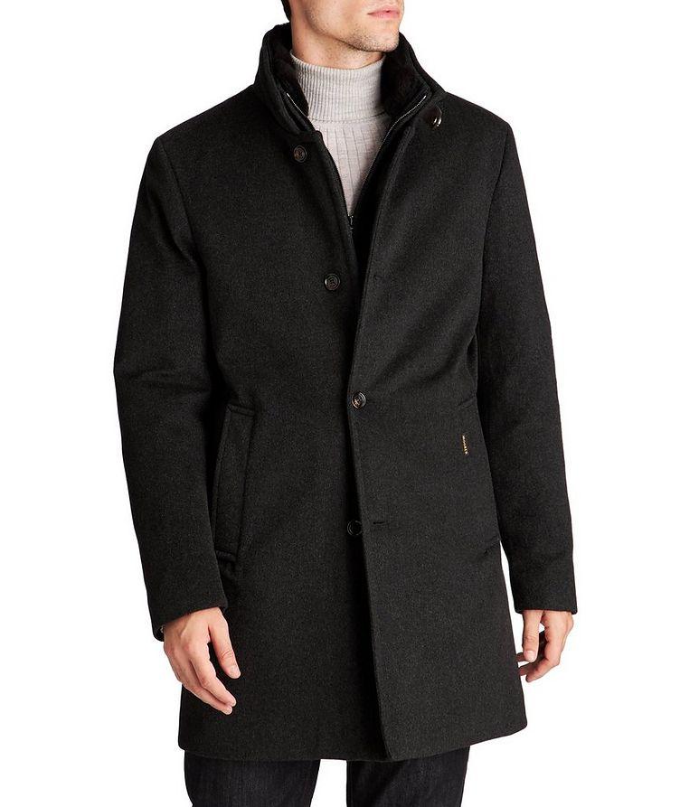 Manteau Bond imperméable en cachemire et duvet image 0