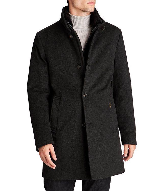 Manteau Bond imperméable en cachemire et duvet picture 1