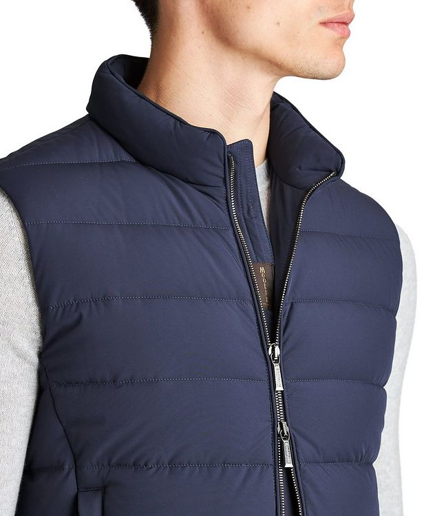 Oliver Quilted Down Vest picture 3