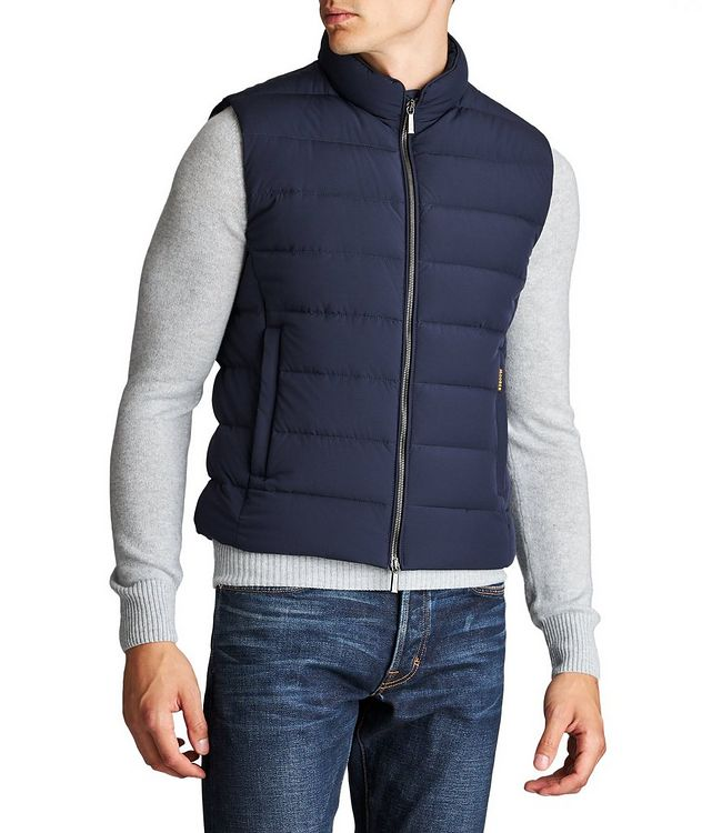 Oliver Quilted Down Vest picture 1