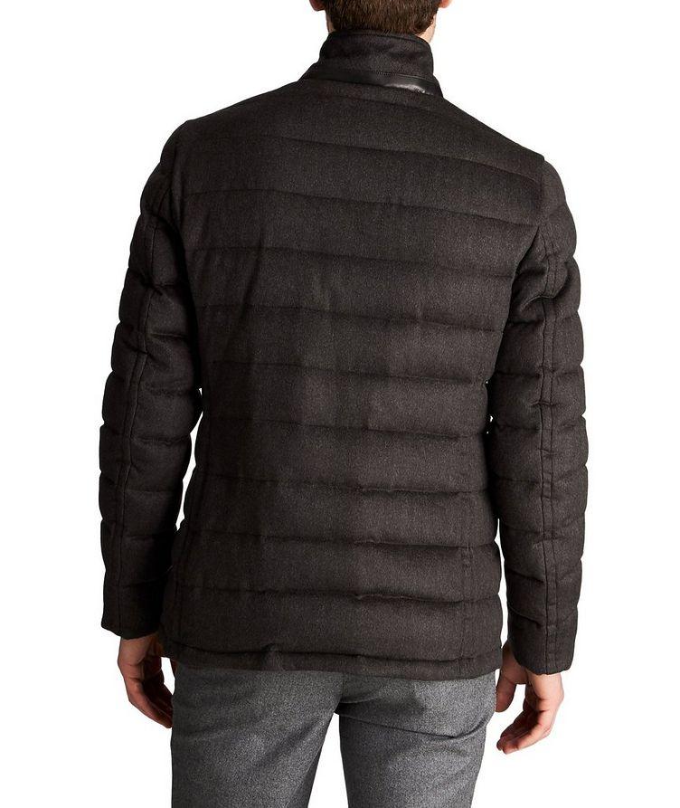 Manteau surpiqué Zayn en laine et cachemire image 1