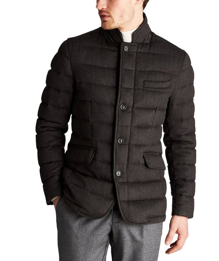 Zayn Quilted Wool-Cashmere Jacket image 0