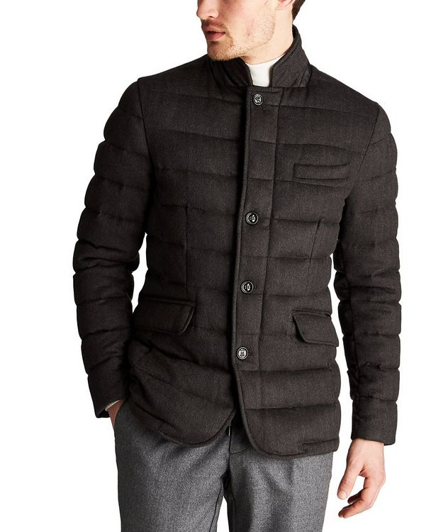 Zayn Quilted Wool-Cashmere Jacket picture 1