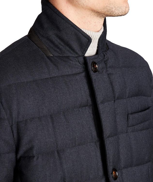 Zayn Wool-Cashmere Down Jacket picture 3