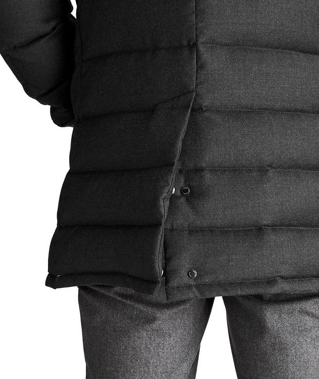 Quilted Wool-Cashmere Jacket picture 4