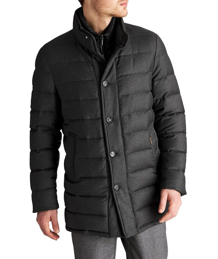 Quilted Wool-Cashmere Jacket image 0