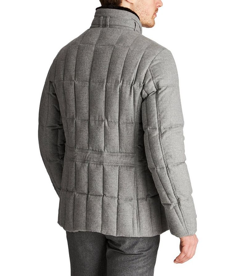 Siro Rain System® Quilted Cashmere Jacket image 1