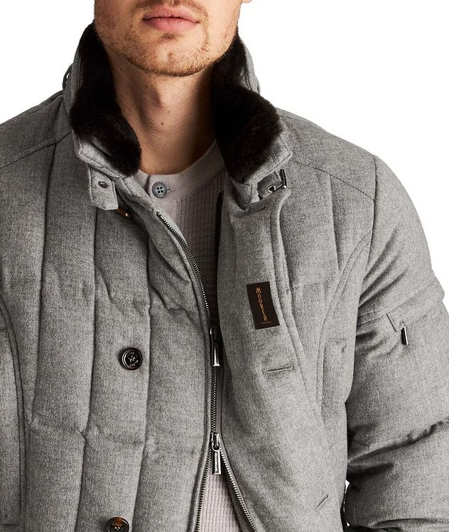 Siro Rain System® Quilted Cashmere Jacket picture 4