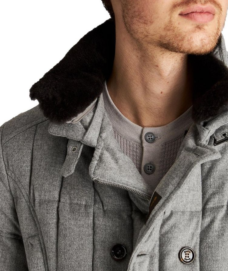 Siro Rain System® Quilted Cashmere Jacket image 4