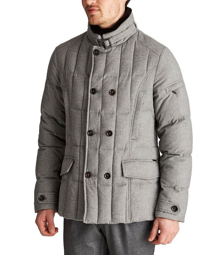 Siro Rain System® Quilted Cashmere Jacket image 0