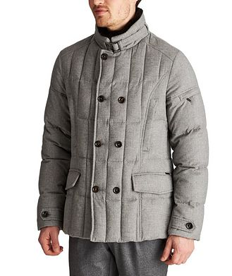 Moorer Siro Rain System® Quilted Cashmere Jacket