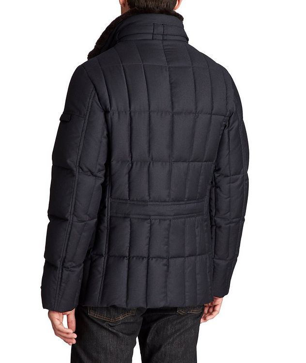 Siro Double-Breasted Down Coat picture 2