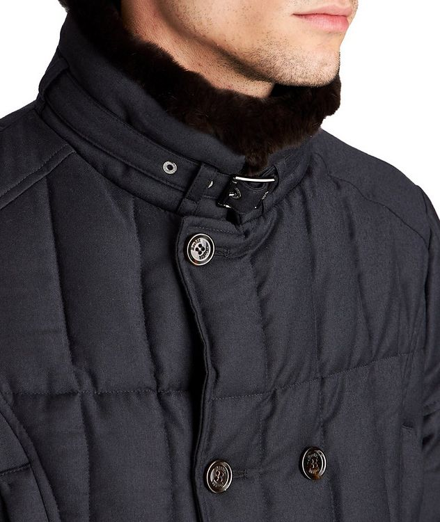 Siro Double-Breasted Down Coat picture 3