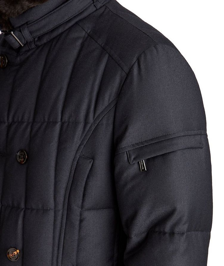 Siro Double-Breasted Down Coat image 3