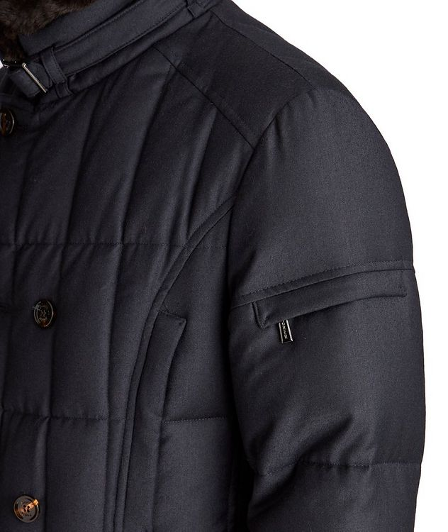 Siro Double-Breasted Down Coat picture 4