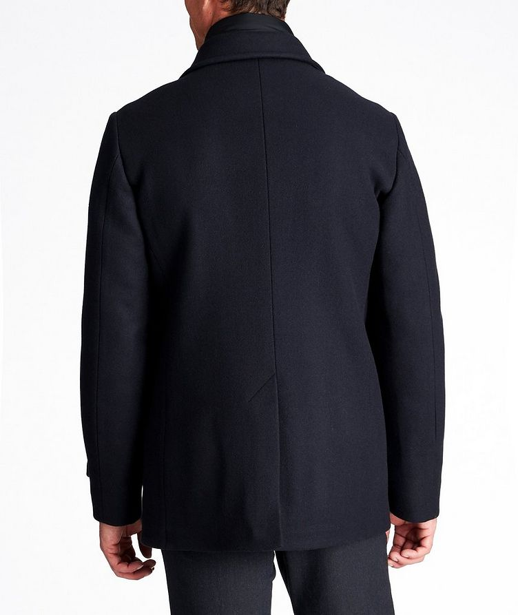 Bolgi Double-Breasted Down Peacoat image 1