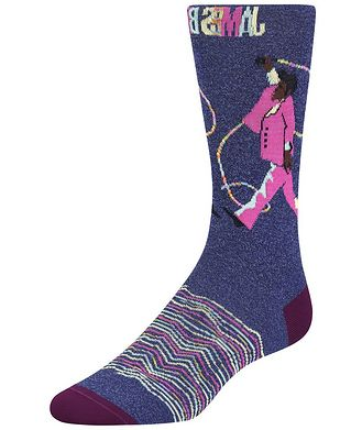 Bugatchi James Brown Cotton-Blend Socks