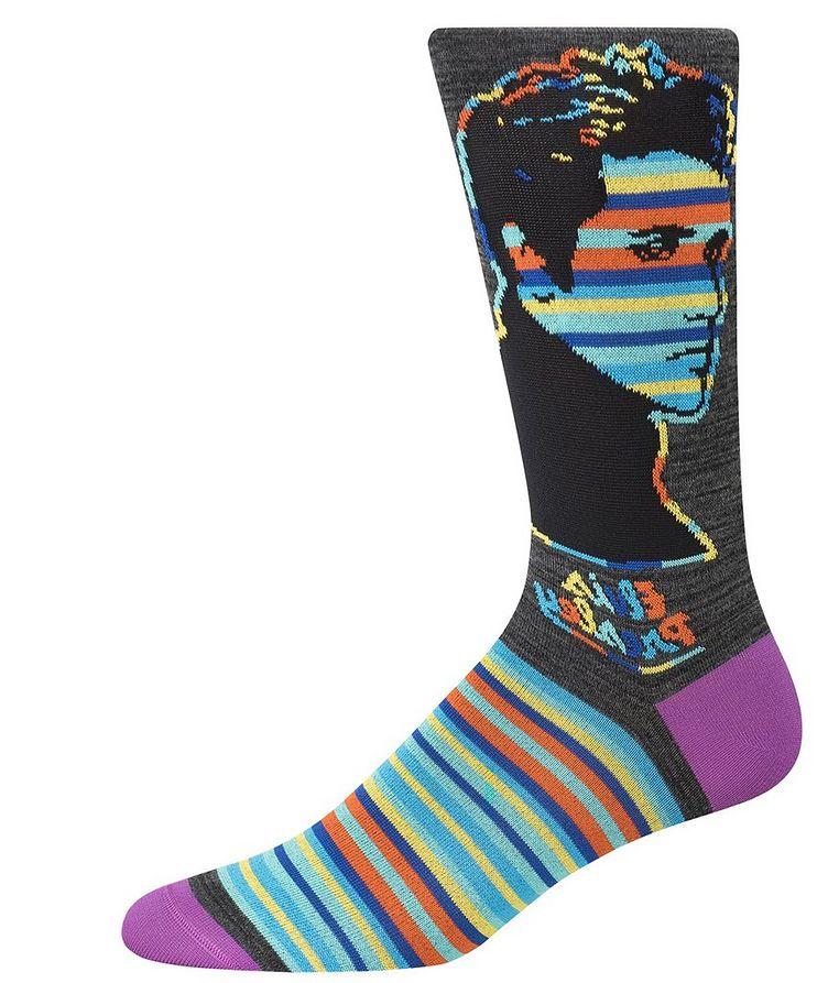 Elvis Presley Cotton-Blend Socks image 0