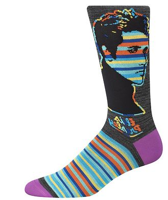 Bugatchi Elvis Presley Cotton-Blend Socks