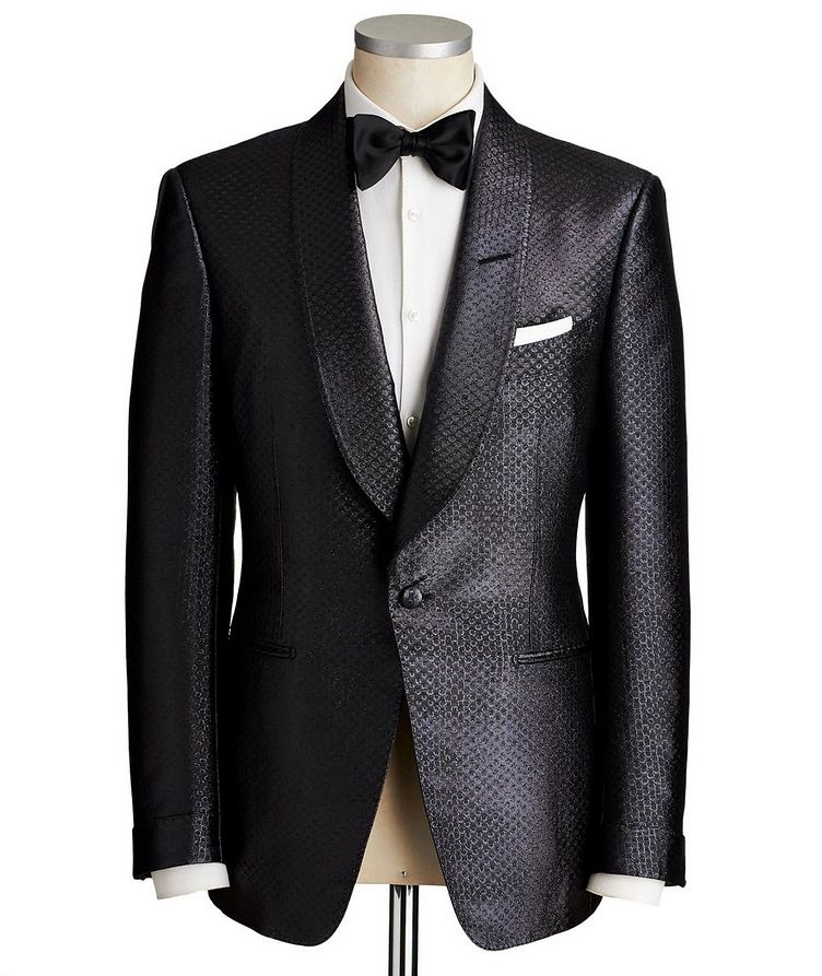 Atticus Metallic Tuxedo Jacket image 0