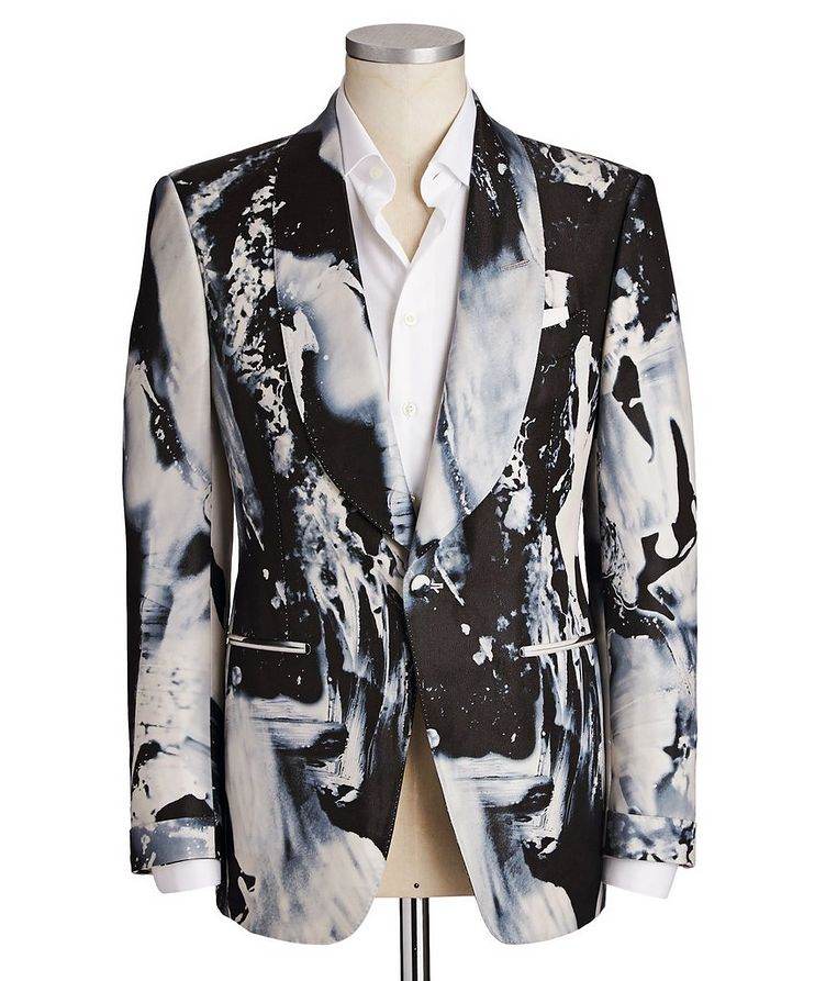 Fall Atticus Silk-Blend Cocktail Jacket image 0