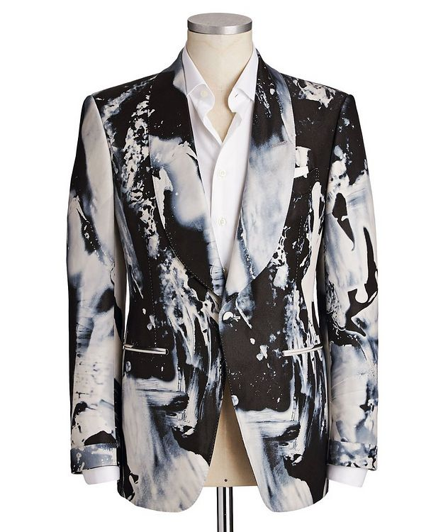 Fall Atticus Silk-Blend Cocktail Jacket picture 1