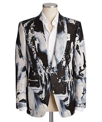 TOM FORD Fall Atticus Silk-Blend Cocktail Jacket