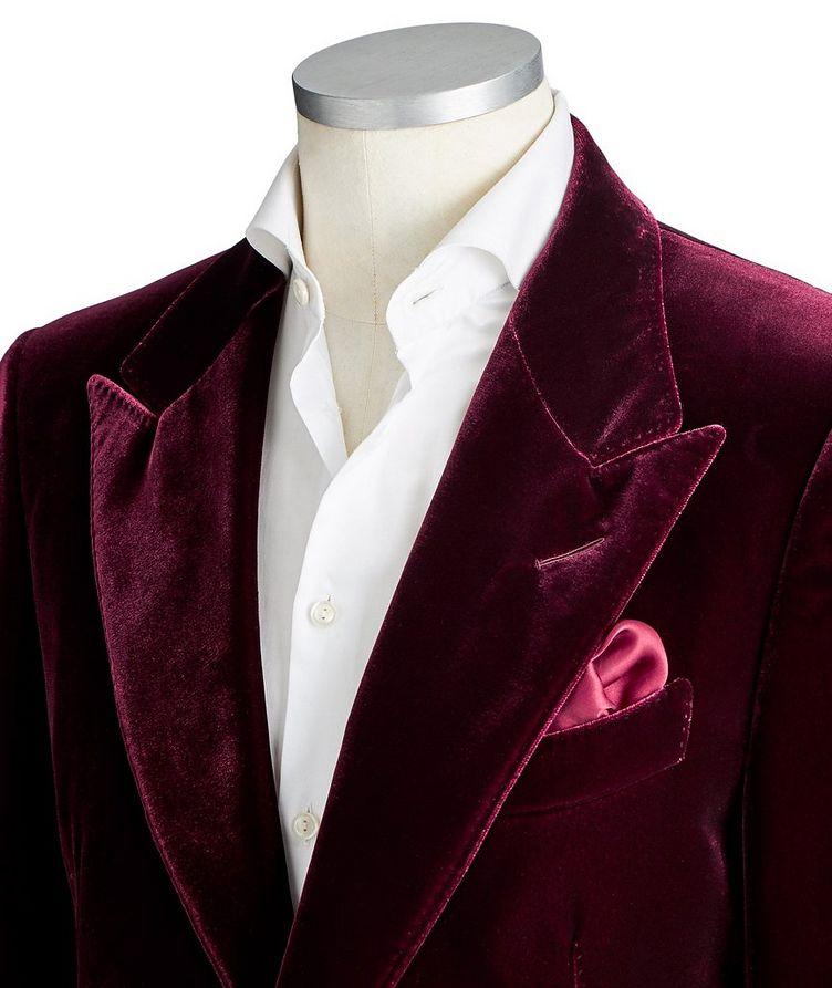 Shelton Velvet Tuxedo Jacket image 1