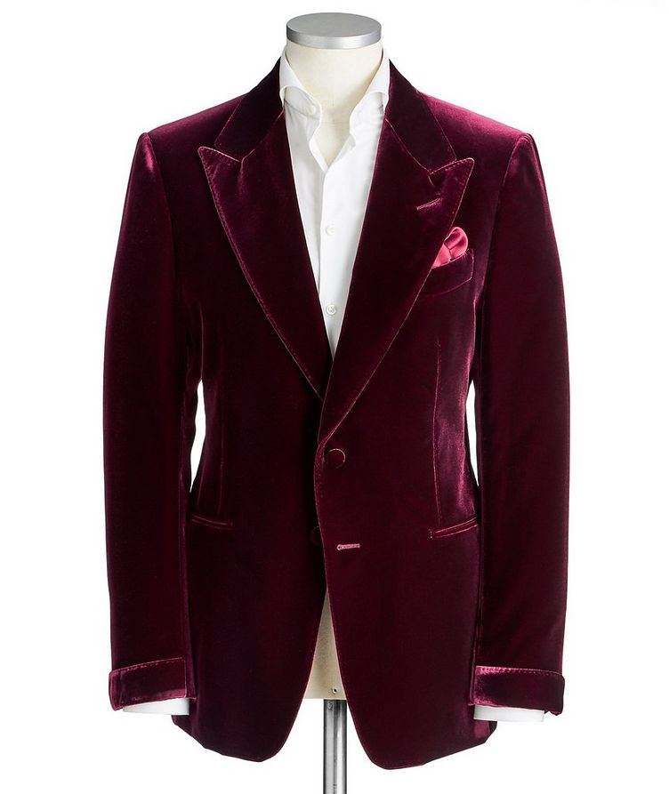 Shelton Velvet Tuxedo Jacket image 0