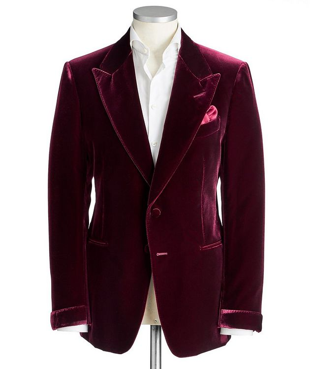 Shelton Velvet Tuxedo Jacket picture 1