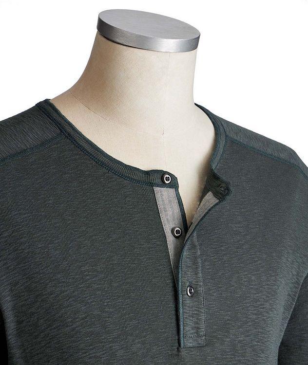 Pull boutonné en coton picture 2